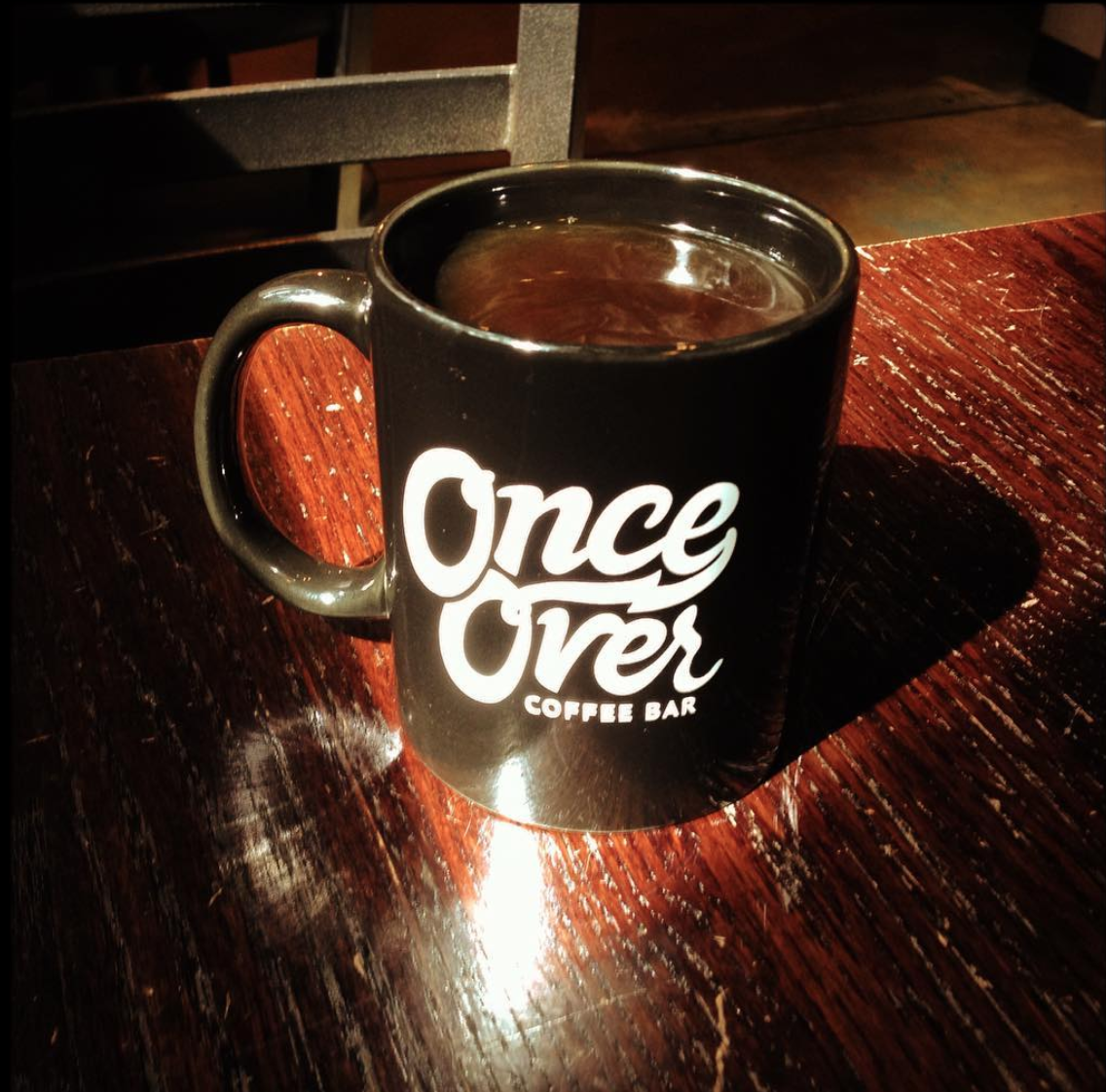 Black Coffee from our friends at Once Over Coffee in Austin