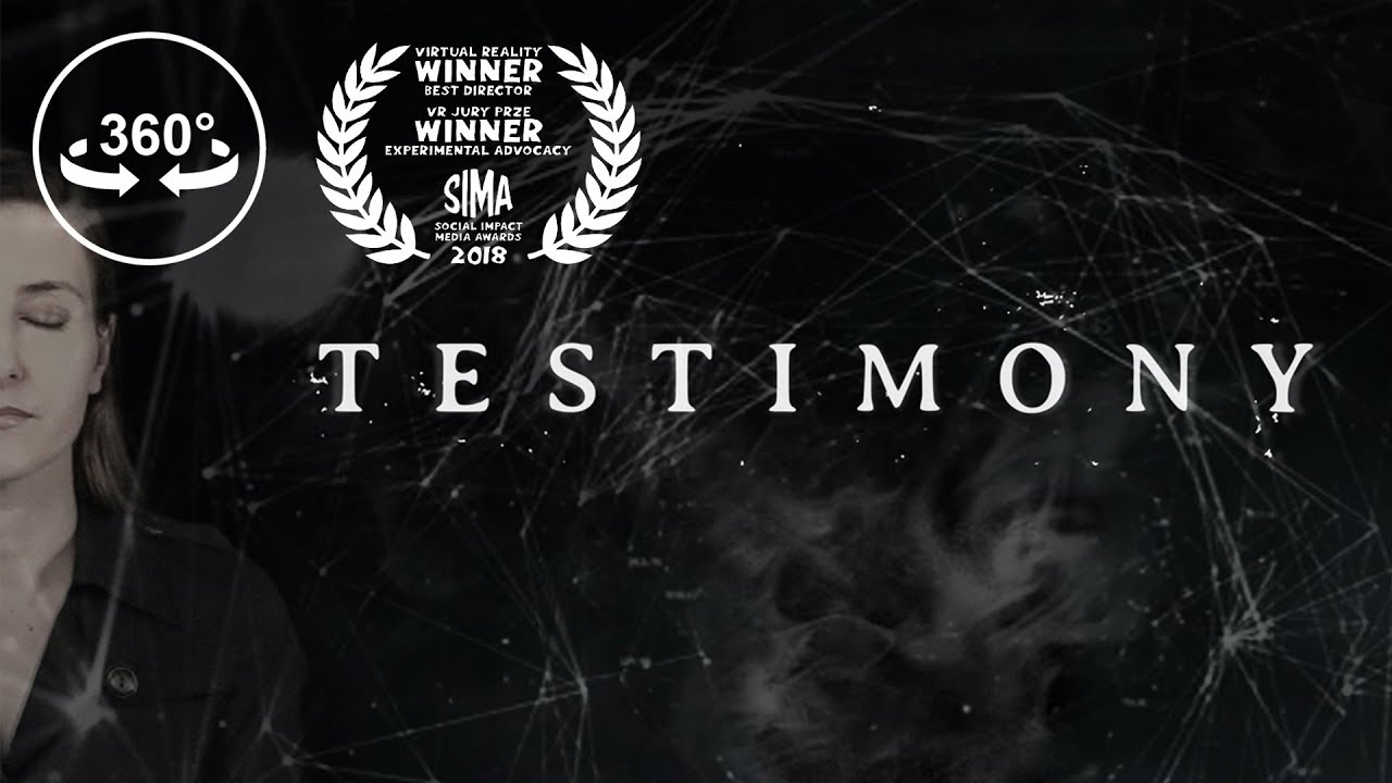 Testimony is an interactive documentary for virtual reality that shares the stories of five survivors of sexual assault and their journey to healing. Beyond just a film, Testimony is an advocacy platform to allow the public to bear witness to those who have been silenced.
