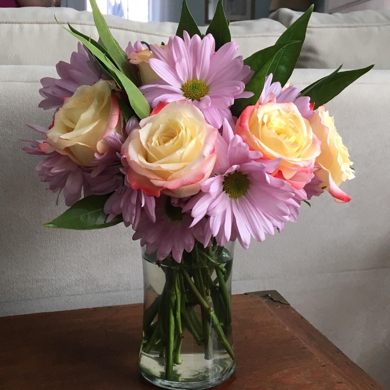 $65 - Floral Arranging Workshop  Make floral arrangements or centerpieces with a local florist!