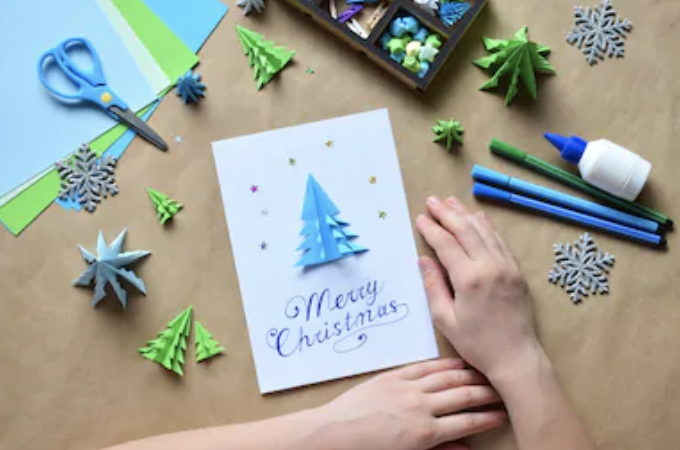 $25 - Greeting Card Workshop   Year round and seasonal options available. Learn stamping, embossing, and more. Take home 3 handmade cards.