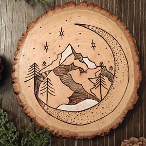 $65 - Wood Burning Workshop + Kit  Learn pyrography and make a custom piece of art. + Take home a pyrography pen kit.