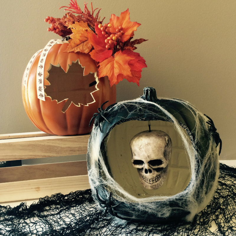 $45 - Pumpkin Decor  Learn to use tools including a hot knife to carve faux pumpkins and then decorate them.