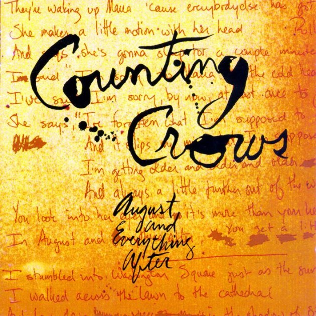 counting crows august vinyl