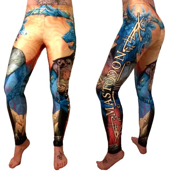 mastadon blood mountain leggings