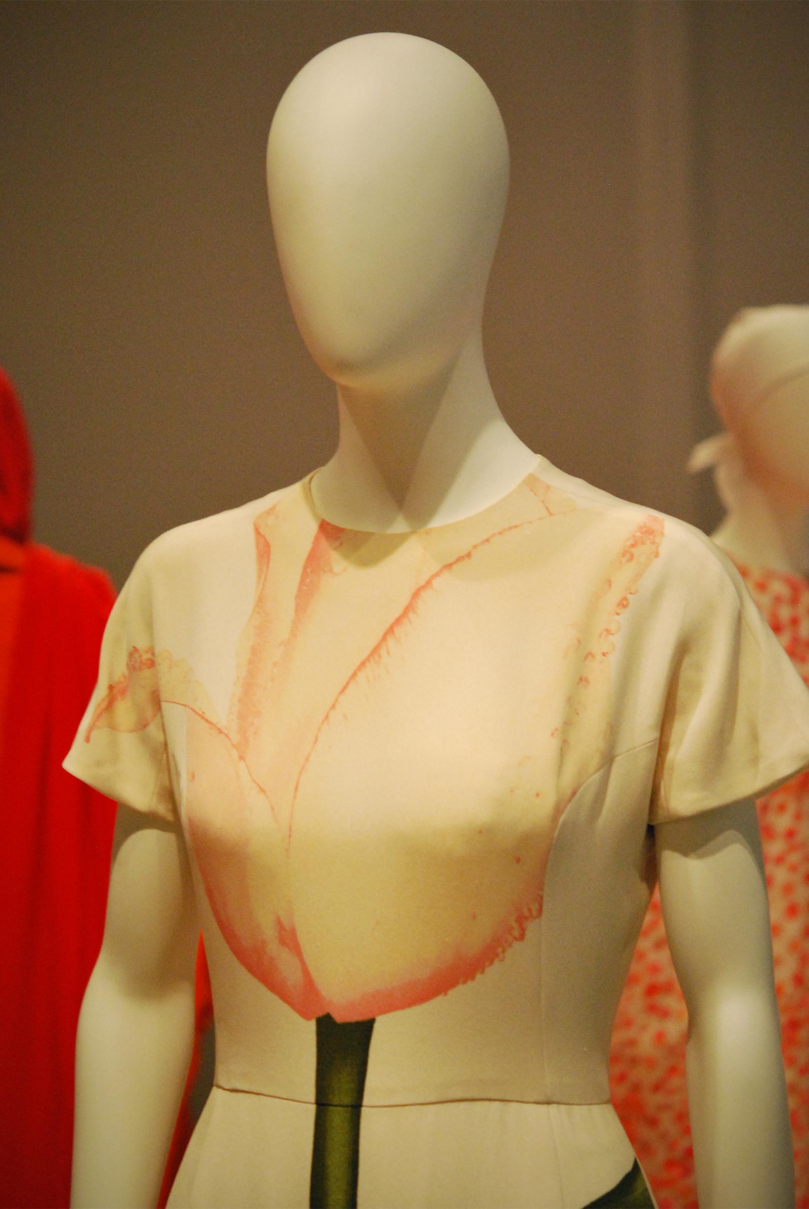 EXPLODED TULIP dress, Spring 1992.
