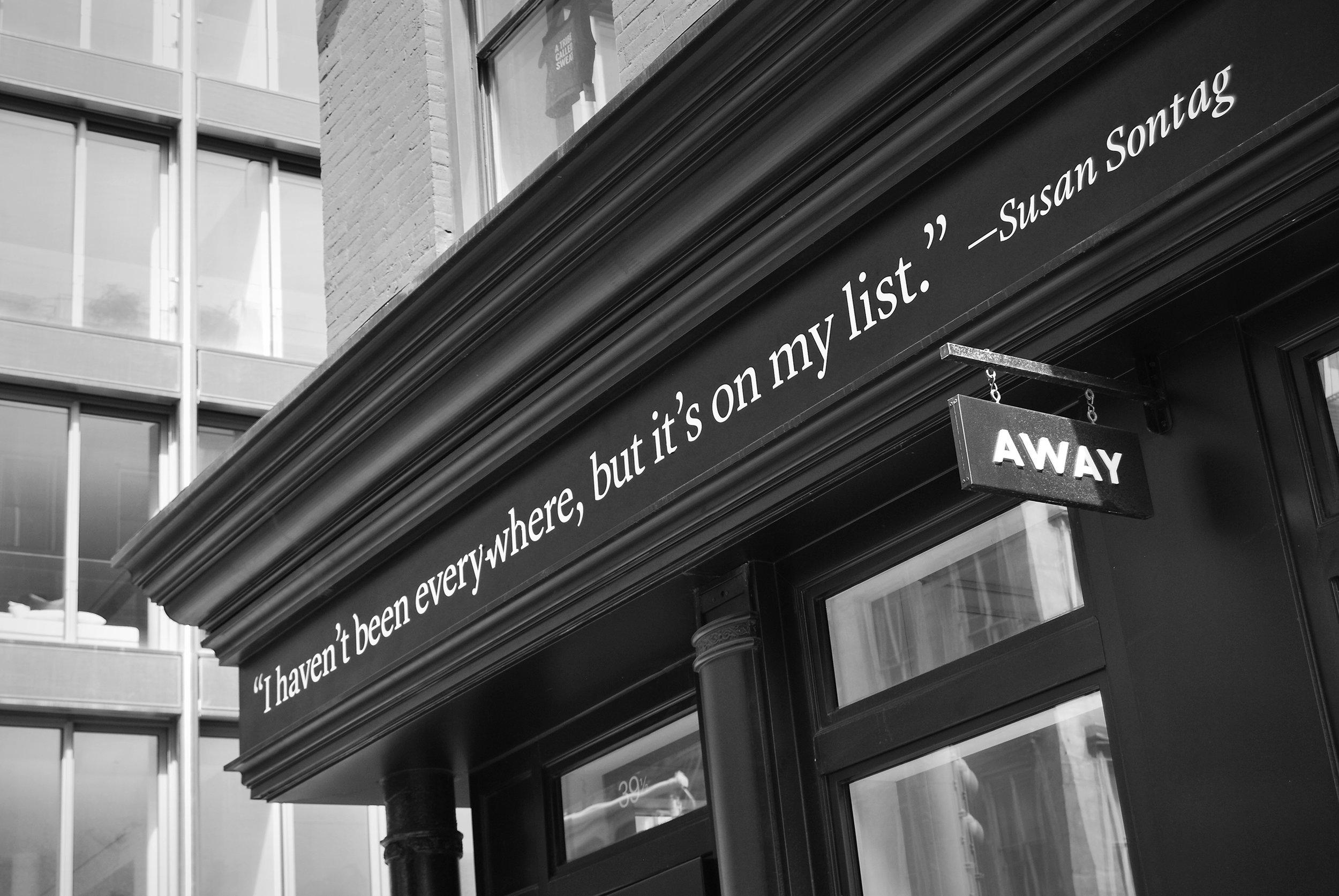 Away, 39 1/2 Crosby Street
