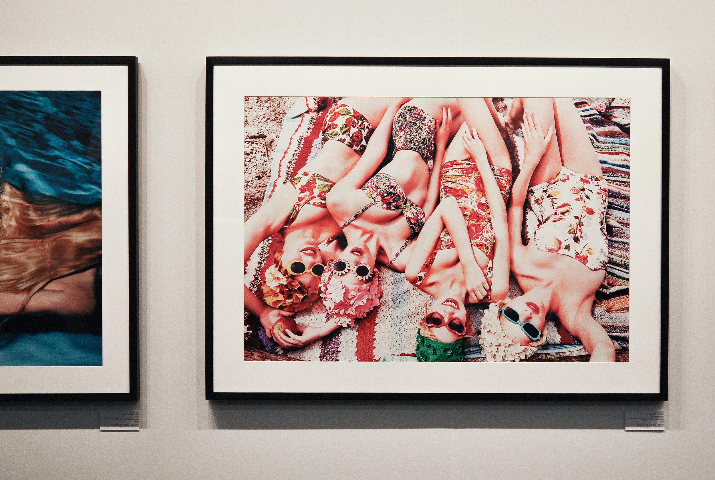 """Ellen Von Unwerth, """"Freshly Bloomed Bavaria,"""" 2015.  Staley Wise Gallery"""