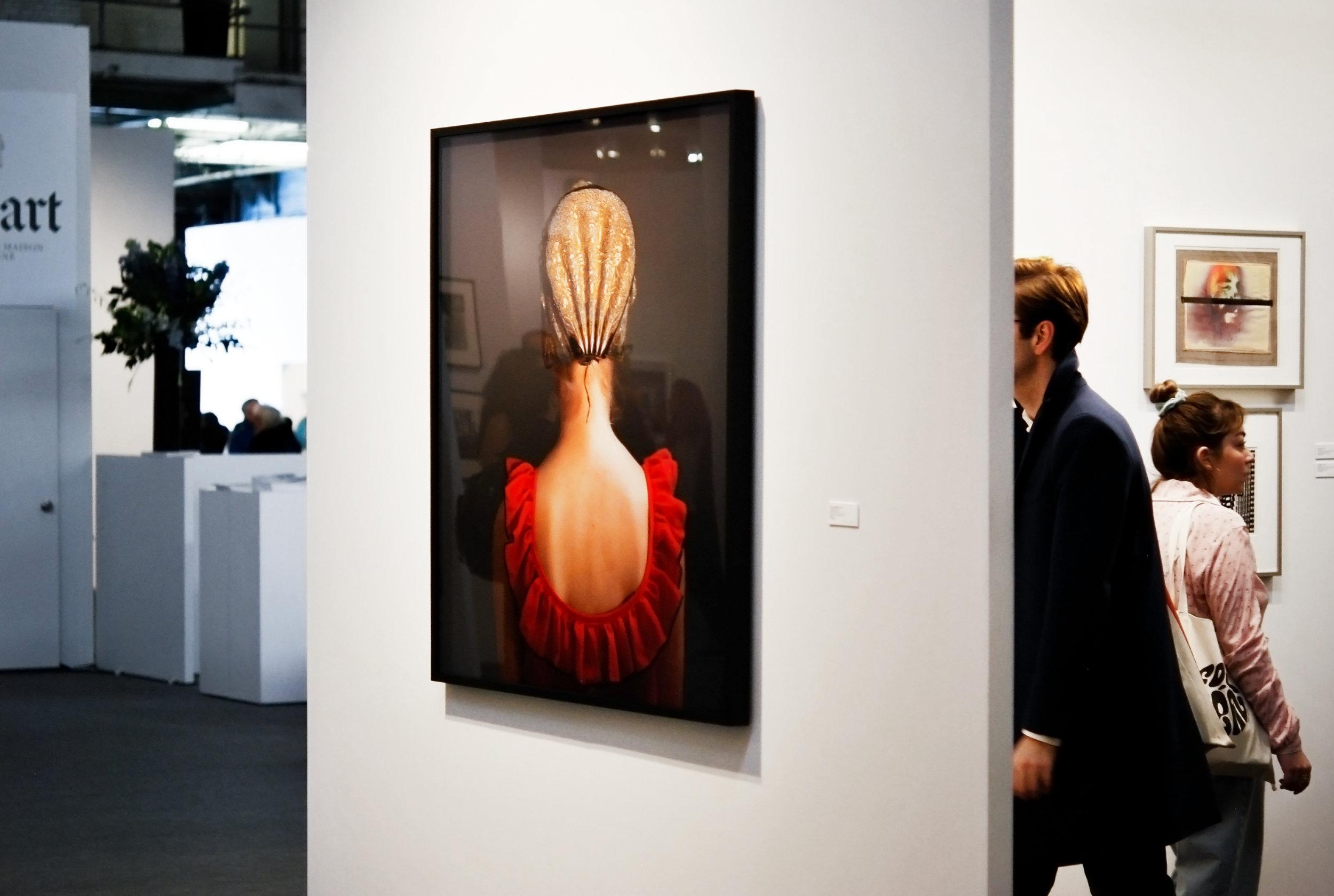 """Trine Sendergaard, """"Guidnakke #10,""""  Bruce Silverstein Gallery"""