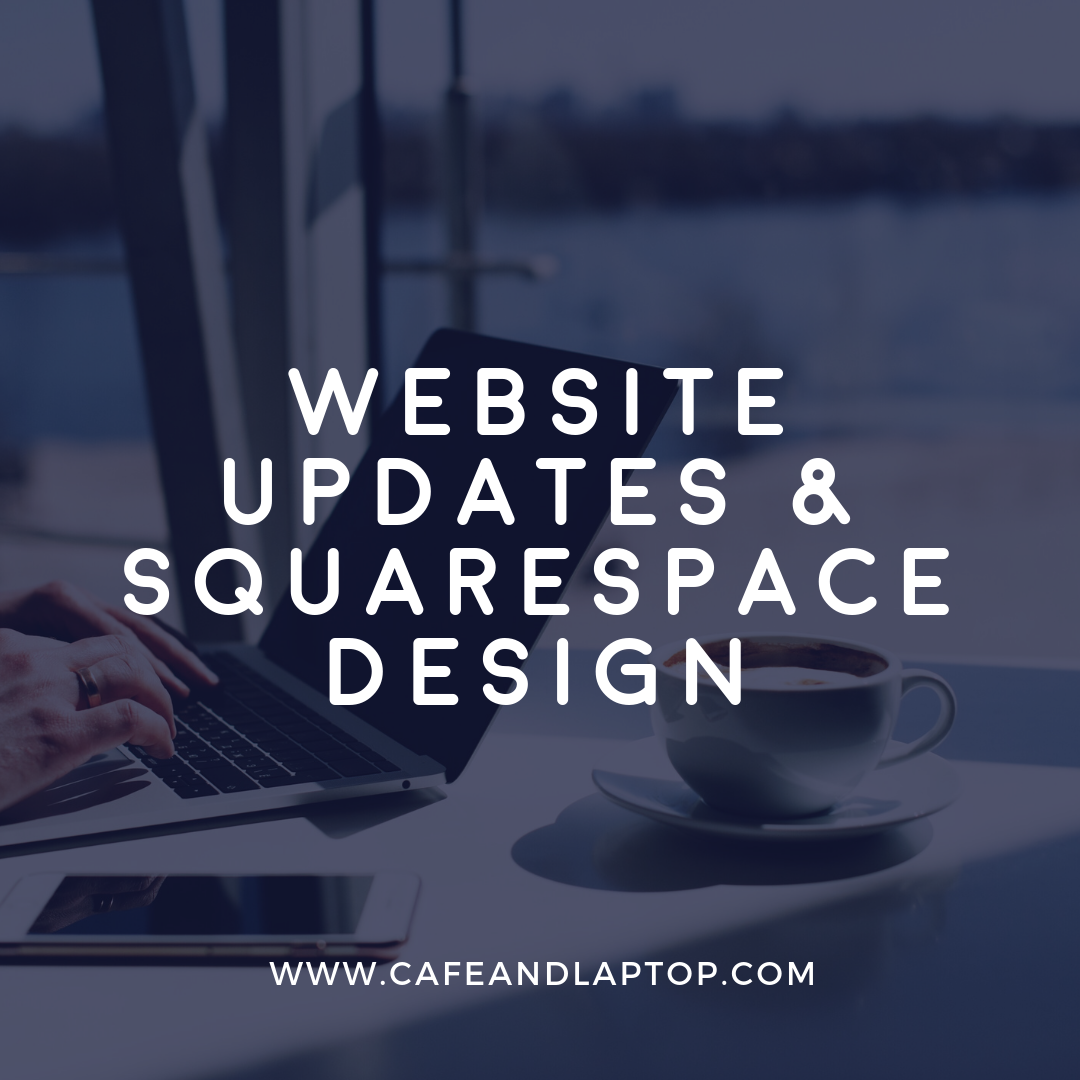 website update squarespace design
