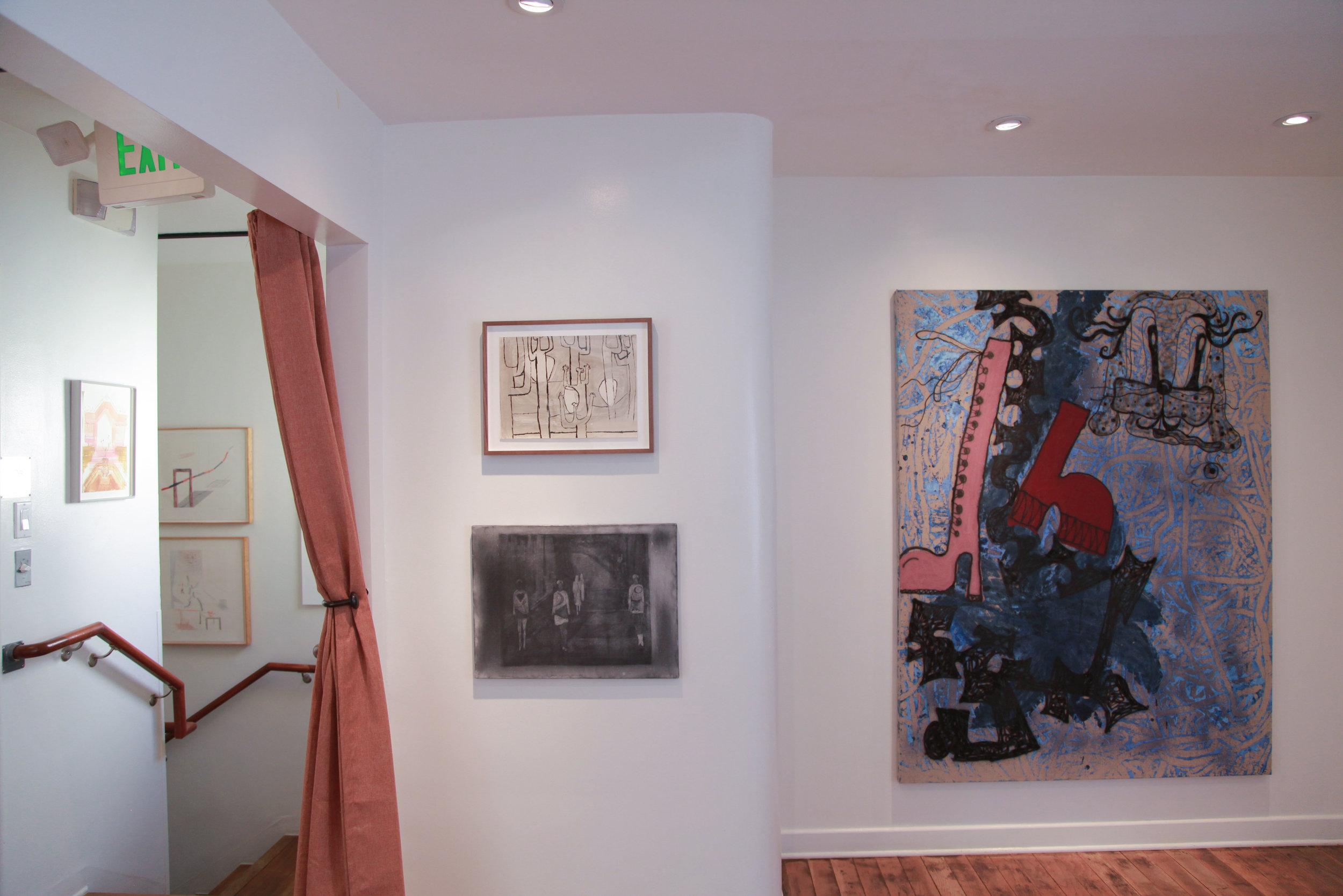Installation view: Luchita Hurtado, Silke Otto-Knapp, Ida Ekblad