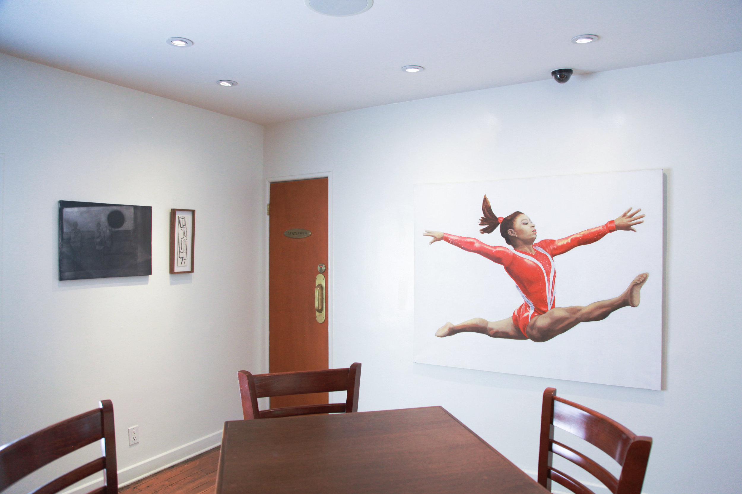 Installation view: Silke Otto-Knapp, Luchita Hurtado, Jill Mulleady