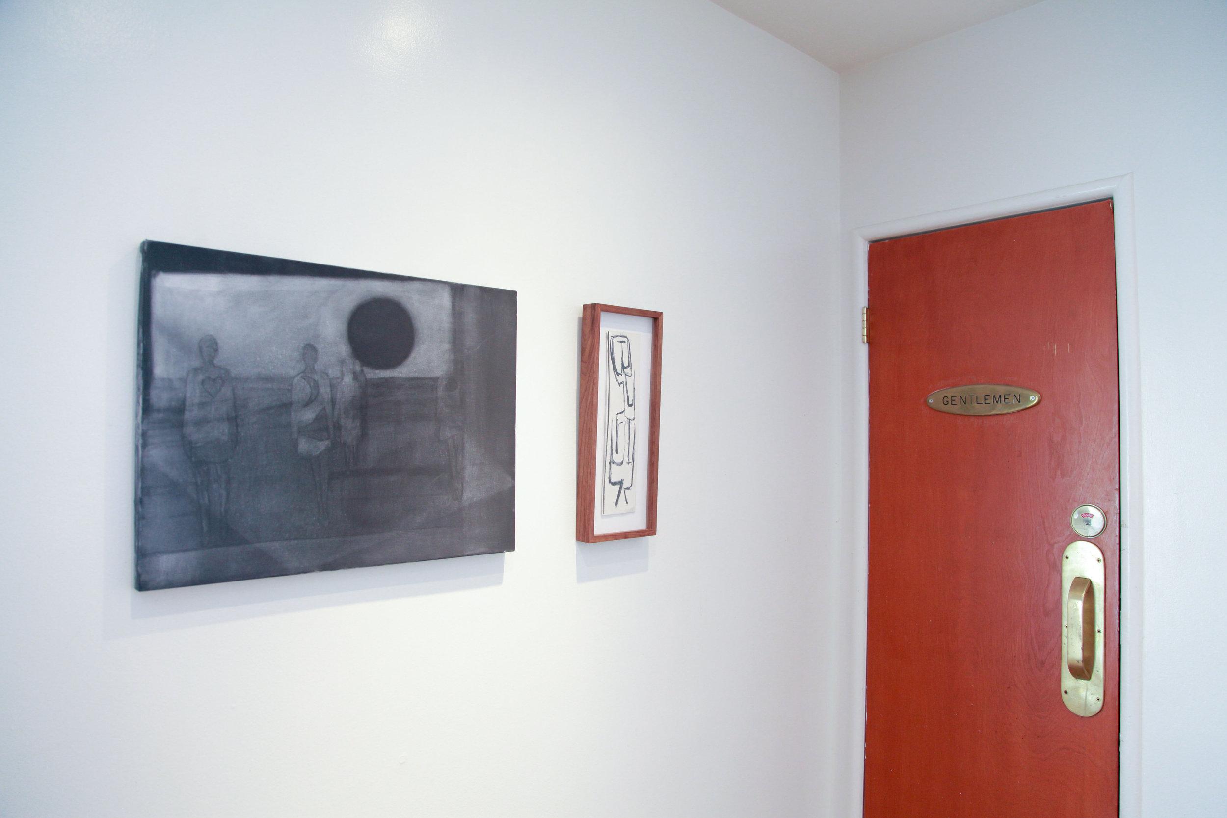 Installation view: Silke Otto-Knapp, Luchita Hurtado