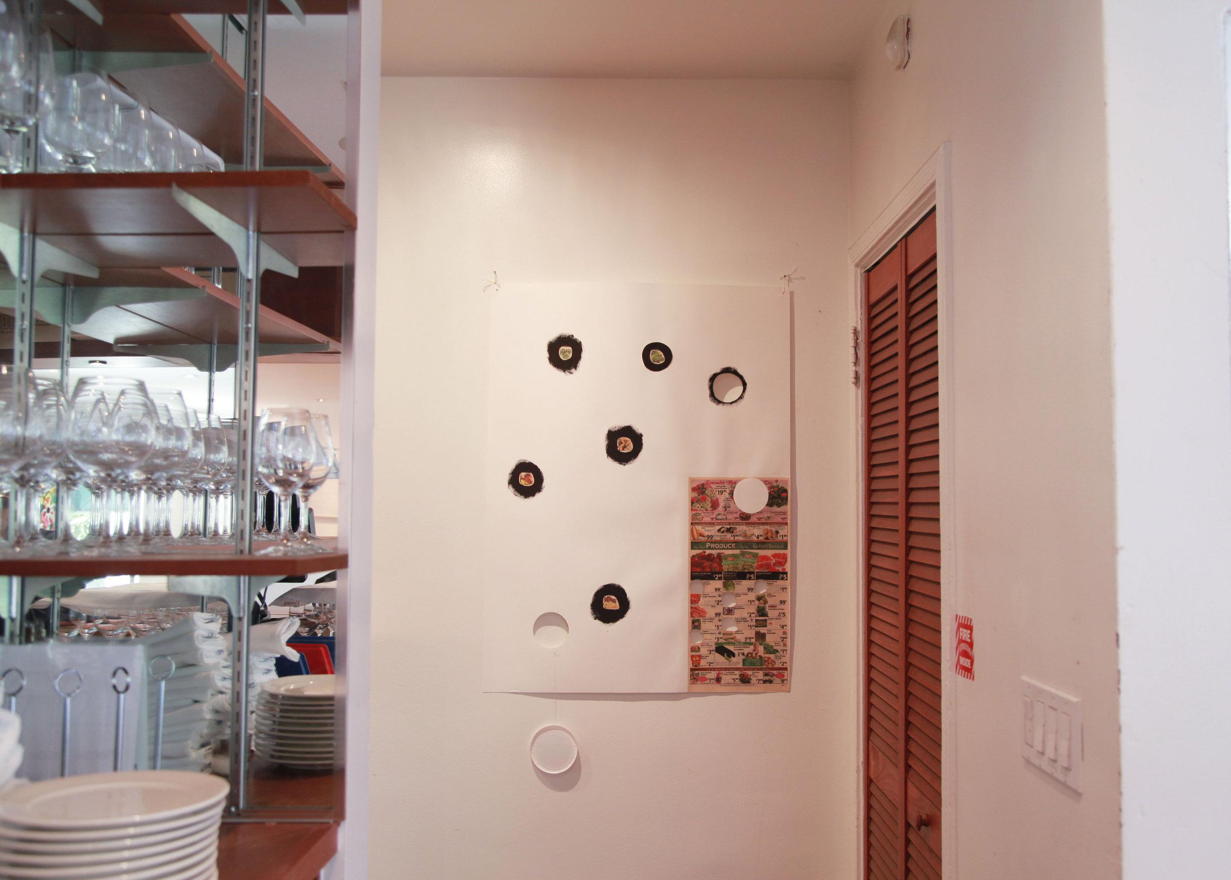 Installation view: B. Wurtz