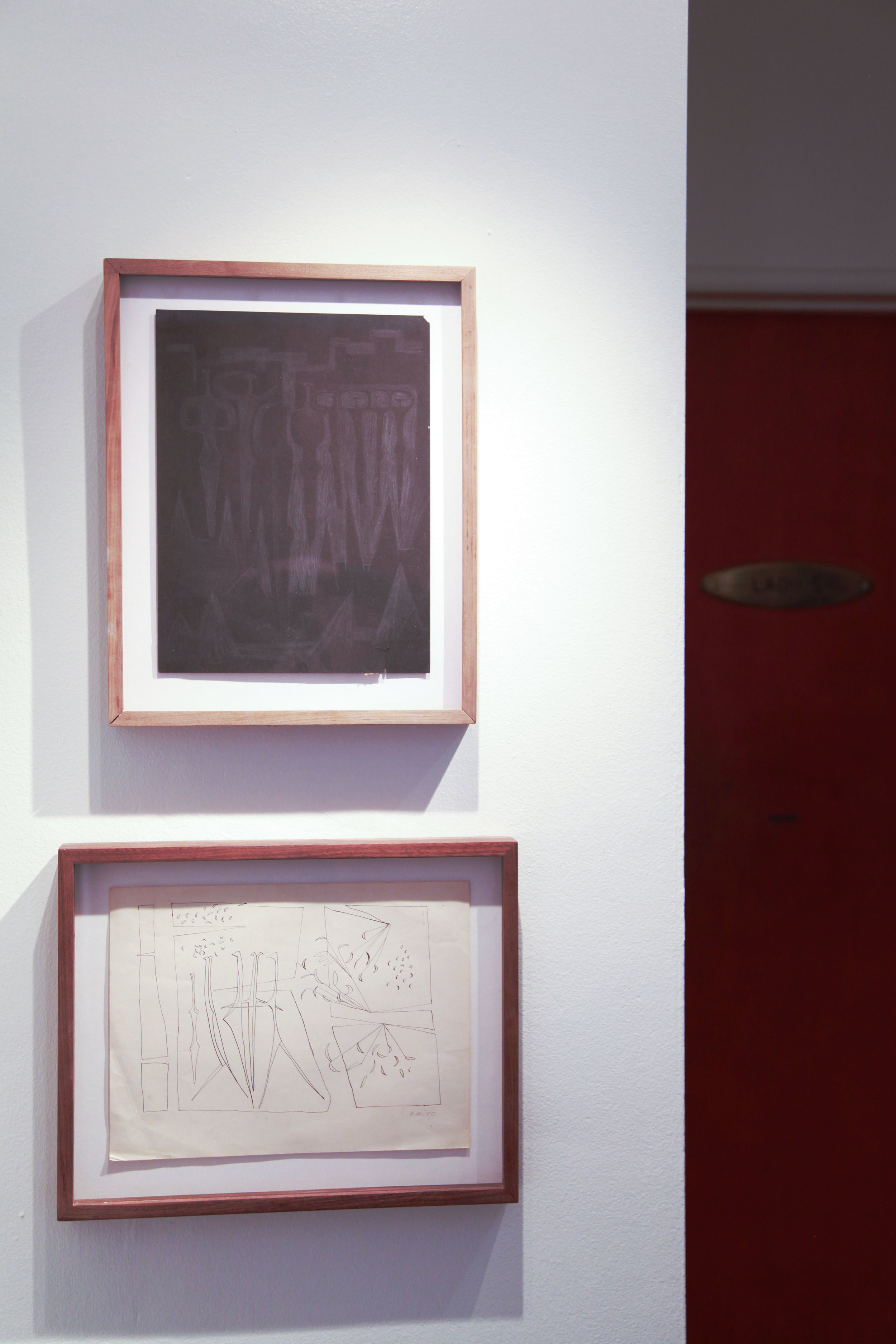 Installation view: Luchita Hurtado