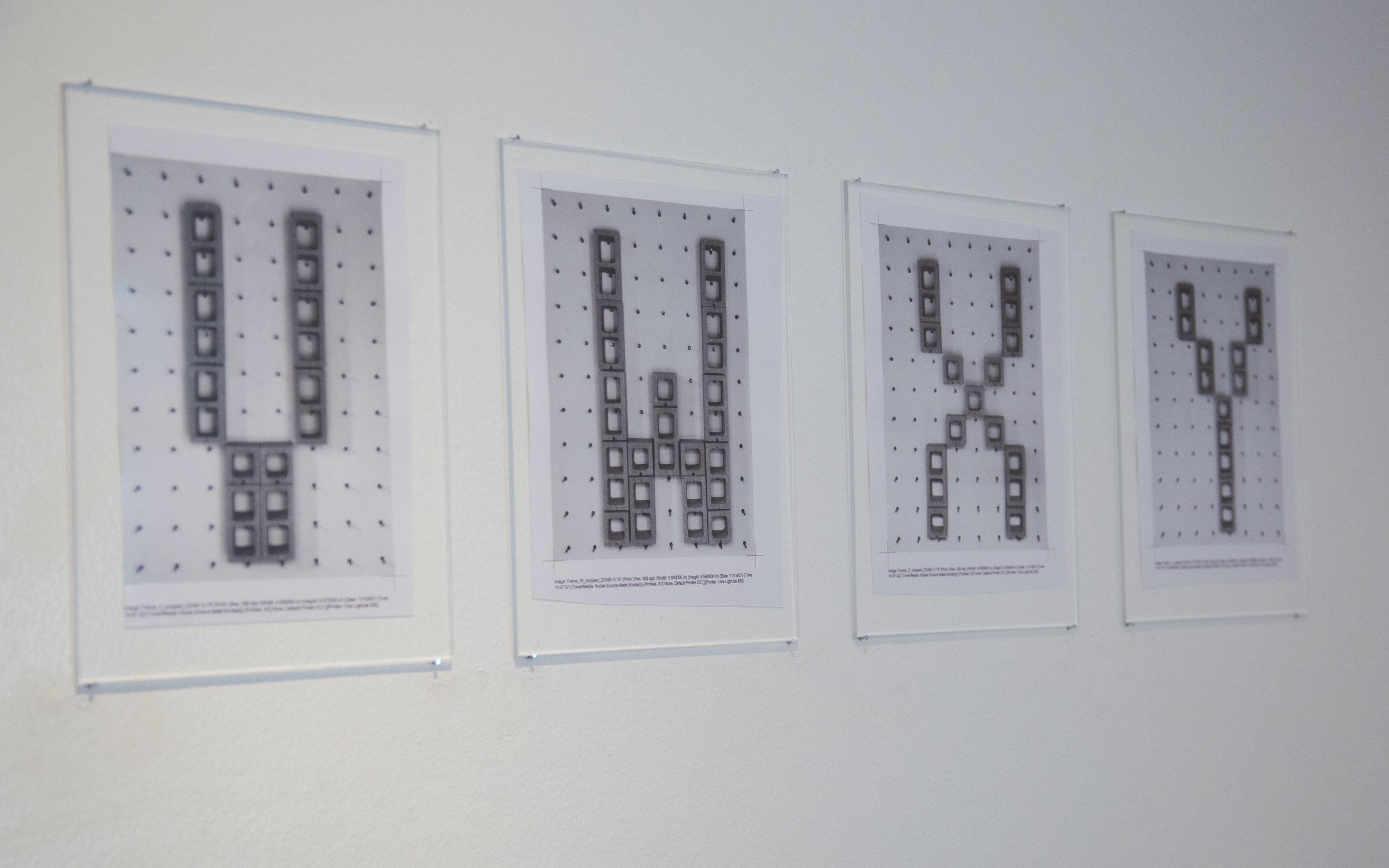 Shannon Ebner   STRIKE / VWXY,  2009 - 2018, Digital Type 'C' prints, Dimensions variable, Unique