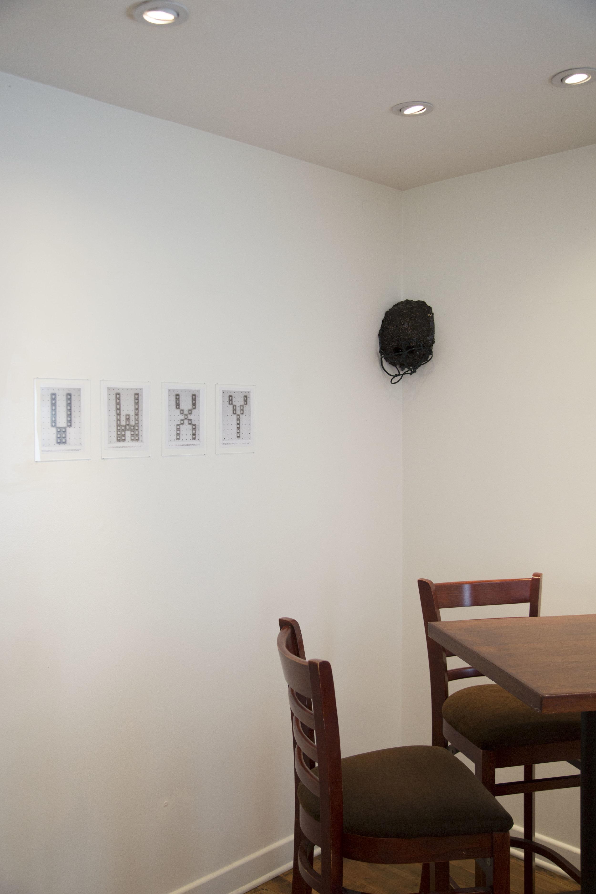 Installation view: Shannon Ebner, Phillip Zach