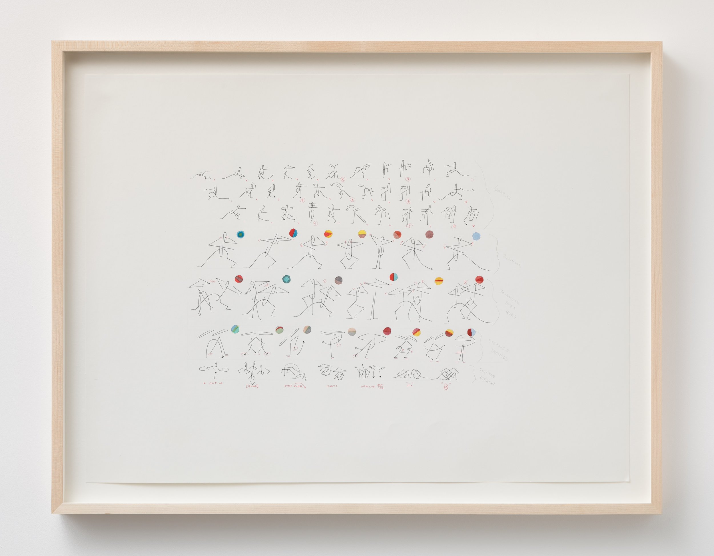 Madeline Hollander   Temperature Sequence #5: Core Power , 2018, Watercolor, graphite, and ink on paper, 18 x 24 inches