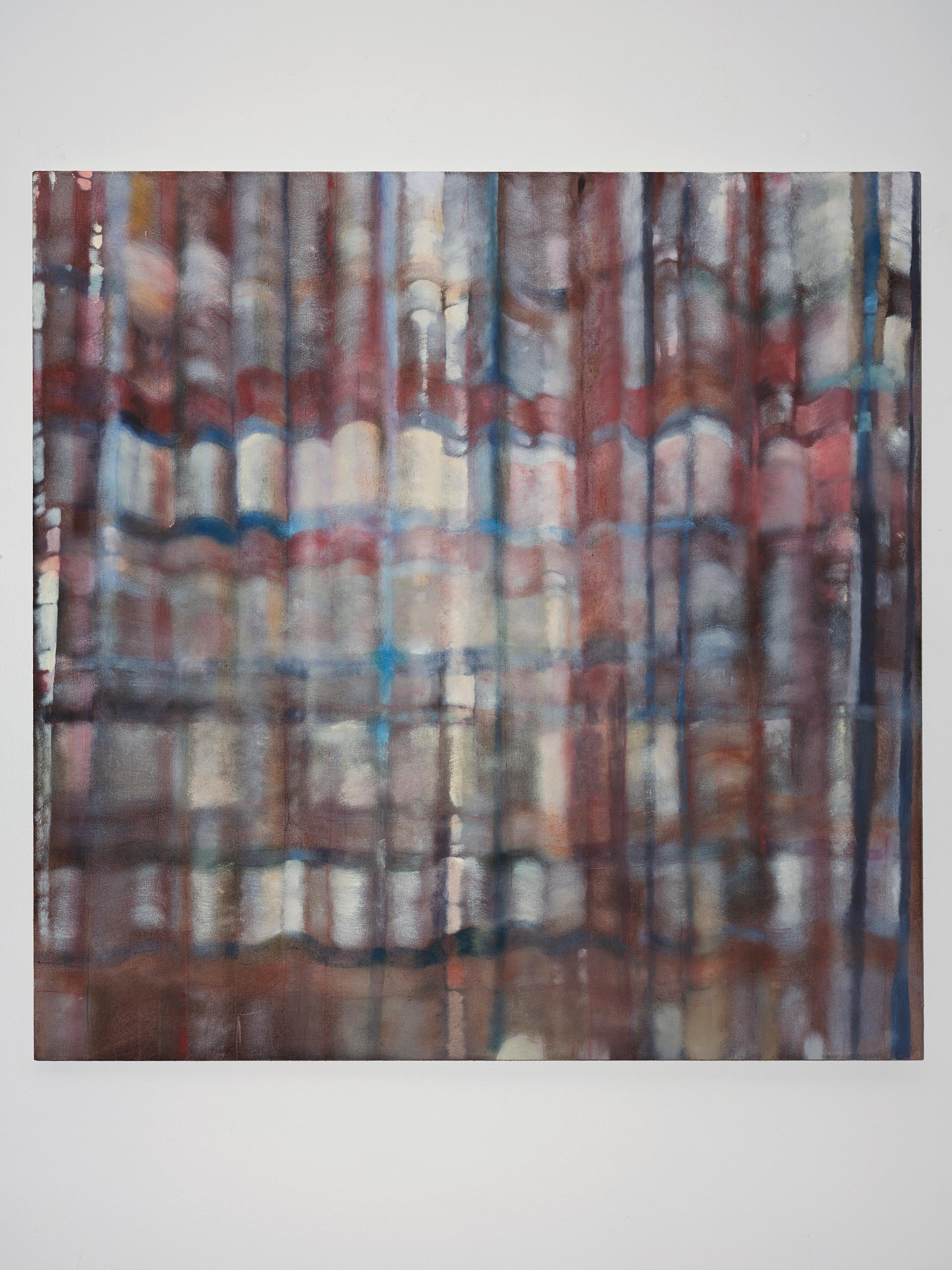 Kundalinimas , 2018, 47 x 47 inches, Oil on canvas