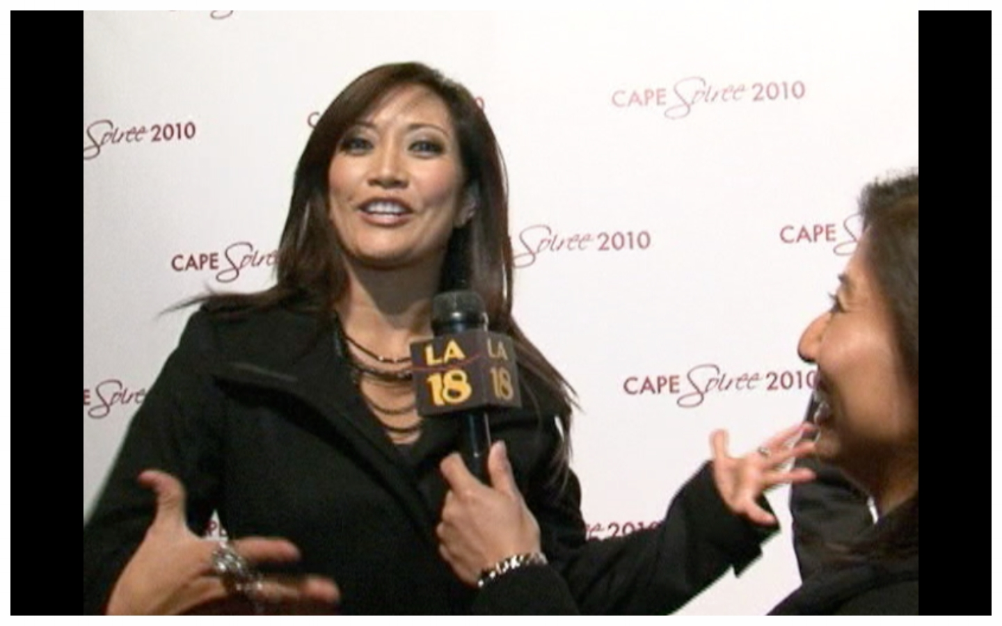 w/ Carrie Ann Inaba