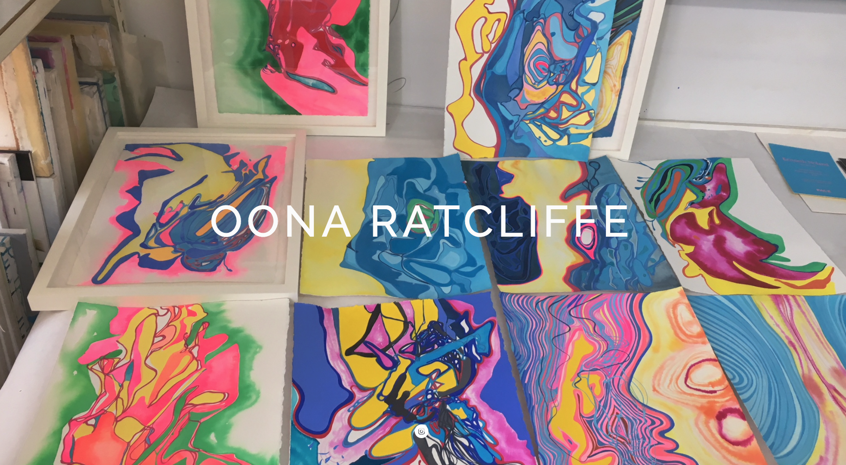 Oona Ratcliffe | Brooklyn, NY   Squarespace site for Oona Ratcliffe, a fantastic painter.