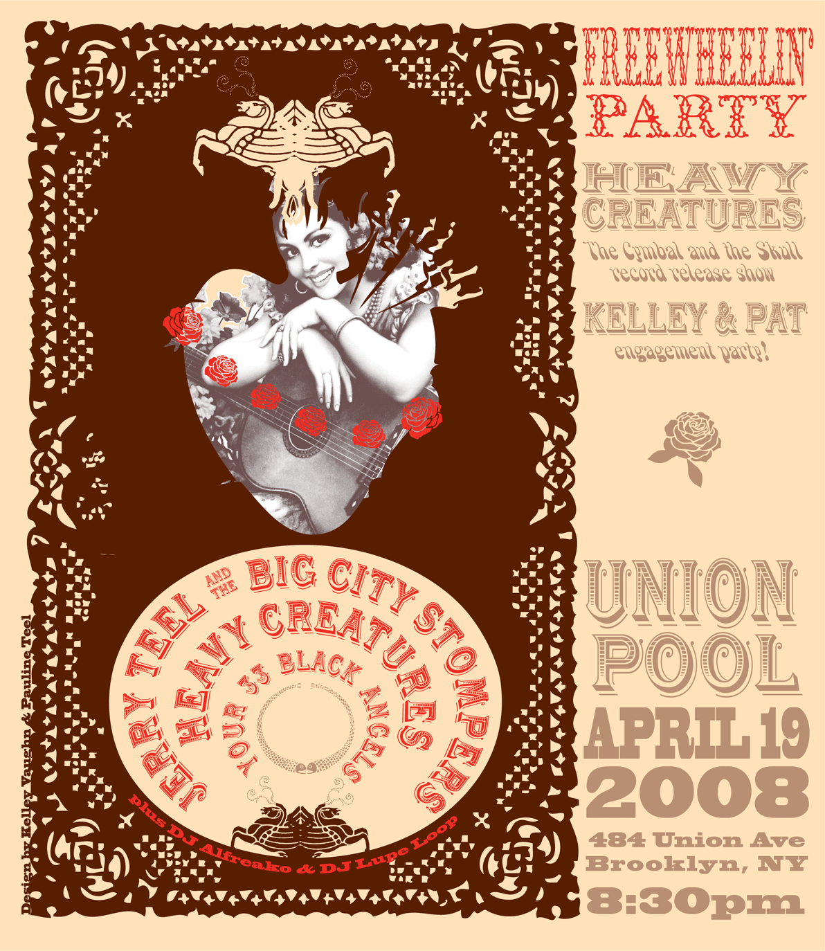 2008: Heavy Creatures Record Release Party at Union Pool
