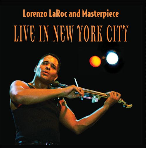 2003: Lorenzo LaRoc CD Cover (front)