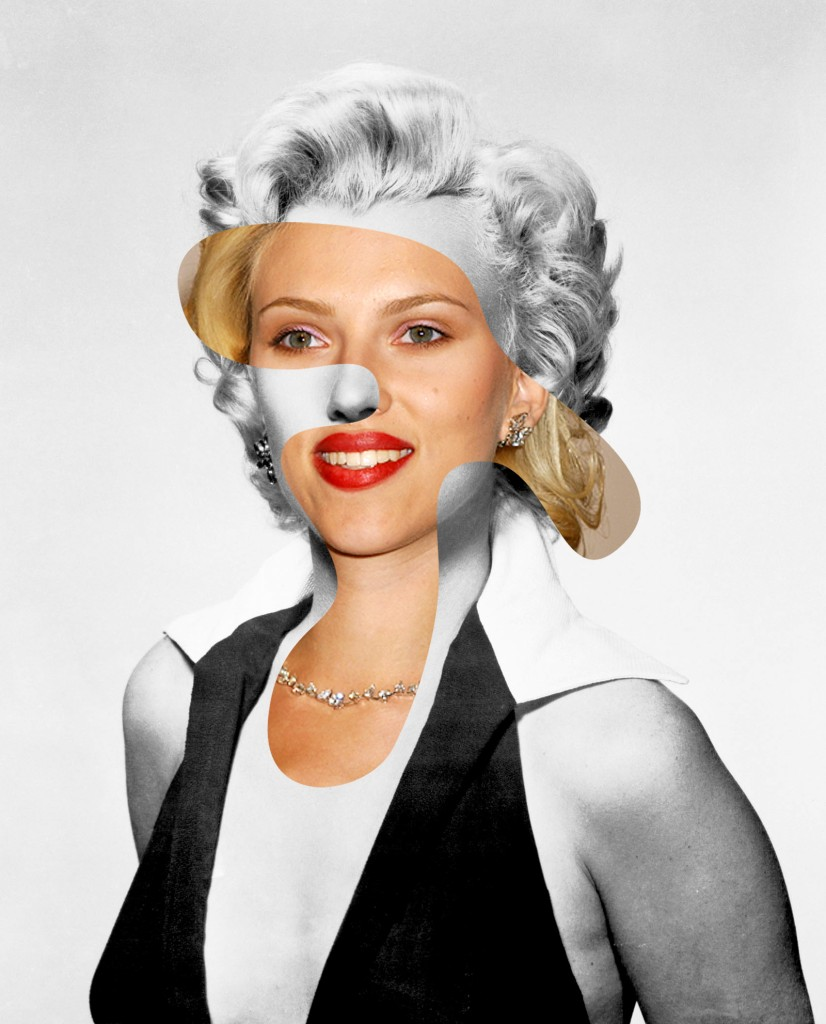 Is your brand Scarlett Johansson or Marilyn Monroe? Collage by George Chamoun