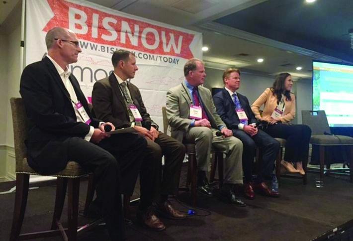 Above Panelists: Michael Dern, Jeff Brink, Craig Rossi, Gene Klein and Krista Raines
