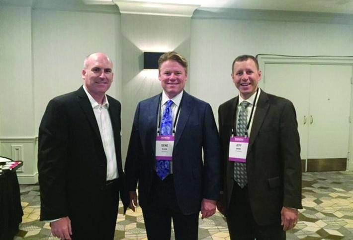 Michael Dern, Gene Klein - CEO of BarkerBlue, and Jeff Brink - Principal of DCI Engineers