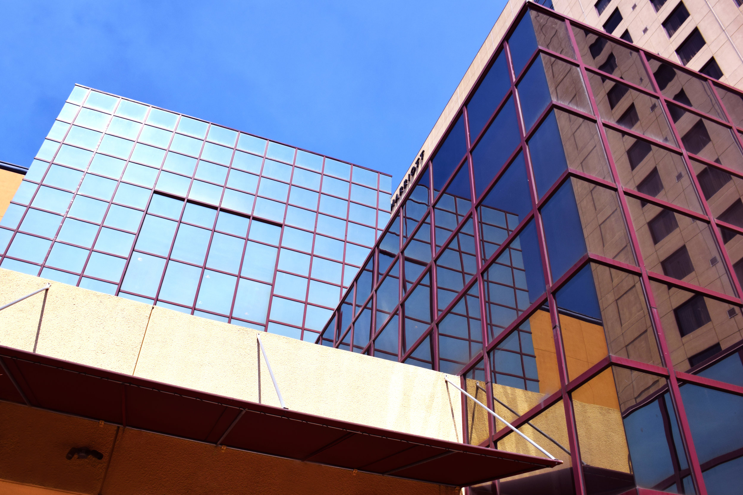 Exterior View from Mezzanine Level Terrace