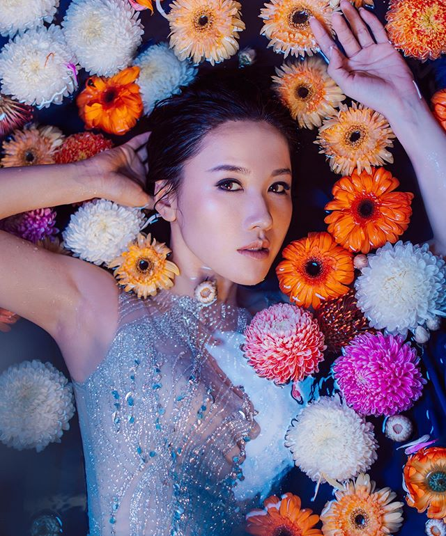 Royal Chrysanthemum  Special guest: @selenaleelalee  Creator & Makeup Artist: @stephenmakeup  Photographer: @vdubl  Hair stylist: @zaptang  Dress: @noelchuatelier . . . .  #noelchu #noelchuatelier #custommade #selenalee #李施嬅  #mood #moodshot #fashion #fashionstyle #dress #weddinggown#bridalgown #weddingstyle #wedding #artisitc #vision #bridal #photoshoot #editorial #brides #gown #hongkong #beautifulbride⠀#hongkongfashion #outfitoftheday #lookoftheday #fashiongram #style #love
