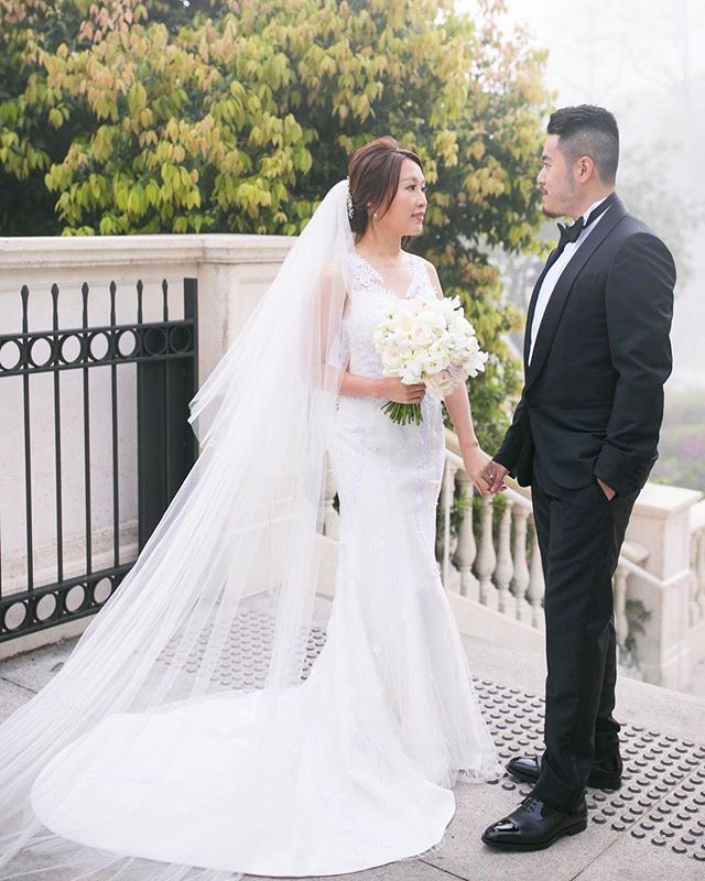 Two hearts in love need no words! ❤️ Custom-made wedding dress and veil for our beautiful bride Pinky @miss_pinkyyy by @noelchuatelier . . . .  #noelchu #noelchuatelier #custommade #bold  #mood #moodshot #fashion #fashionstyle #dress #weddinggown#bridalgown #weddingstyle #wedding #artisitc #vision #bridal #photoshoot #editorial #brides #gown #hongkong #beautifulbride⠀#hongkongfashion #outfitoftheday #lookoftheday #fashionfashiongram #style #love
