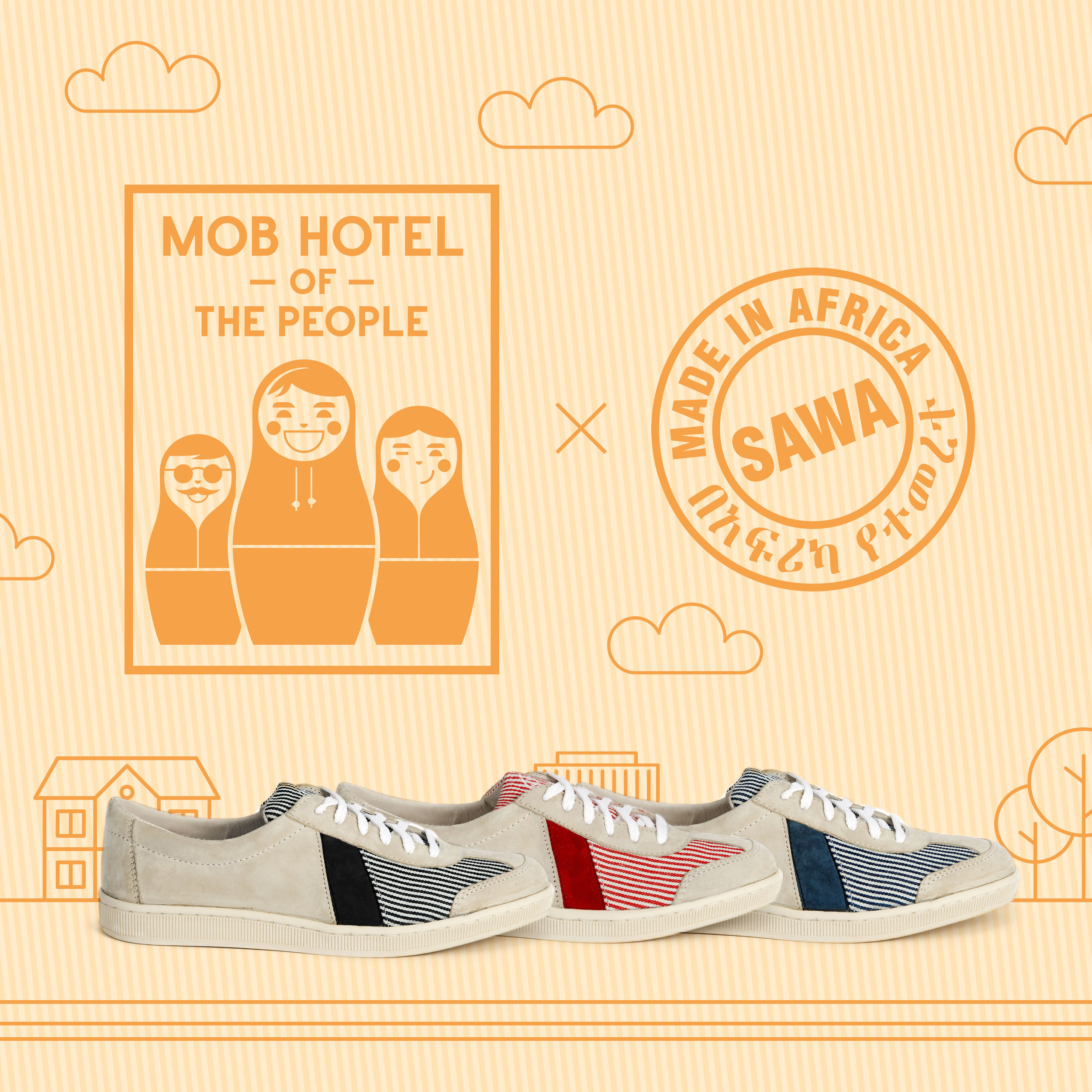 SAWA x Mob Hotel   We have created of footwear collection for the unexpected  Mob Hotel  located in the heart of the  Paris  flea market.   www.mobhotel.com