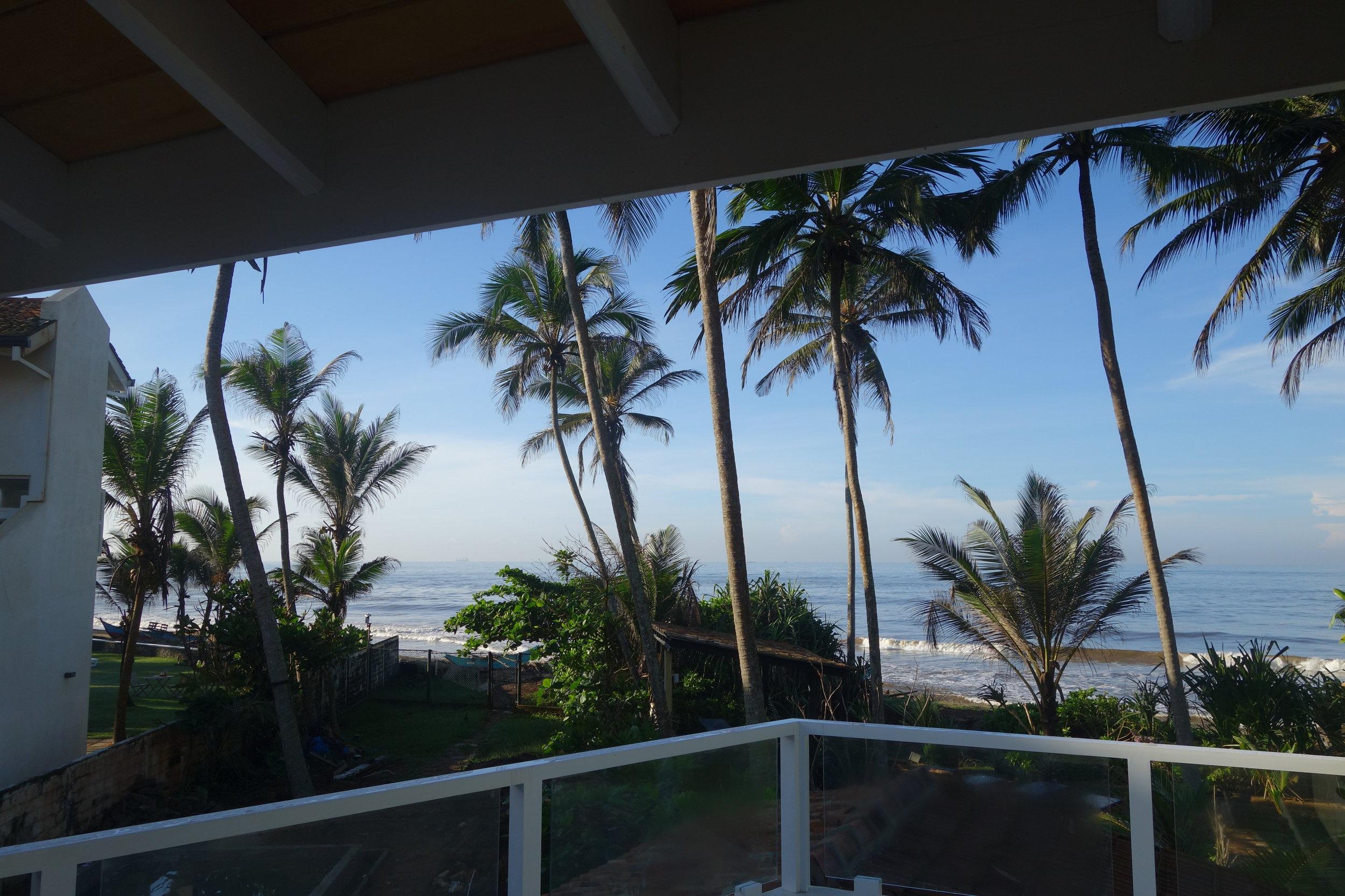 absolute beachfront 180 degree ocean views