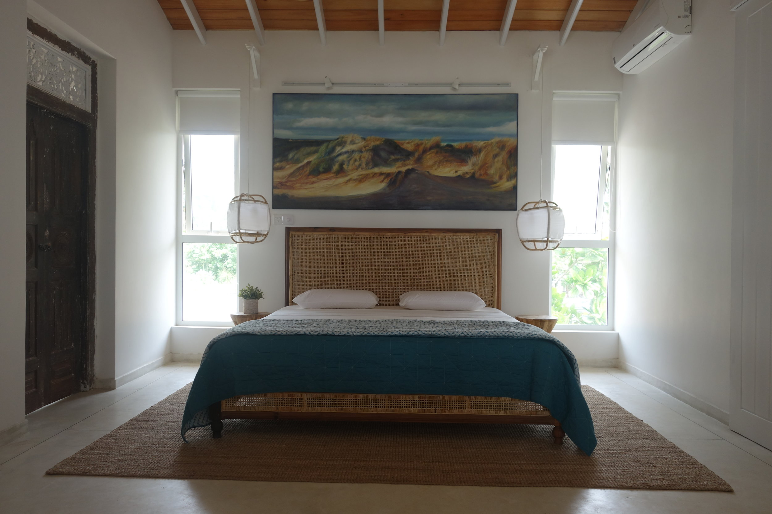 master bedroom with study and ensuite