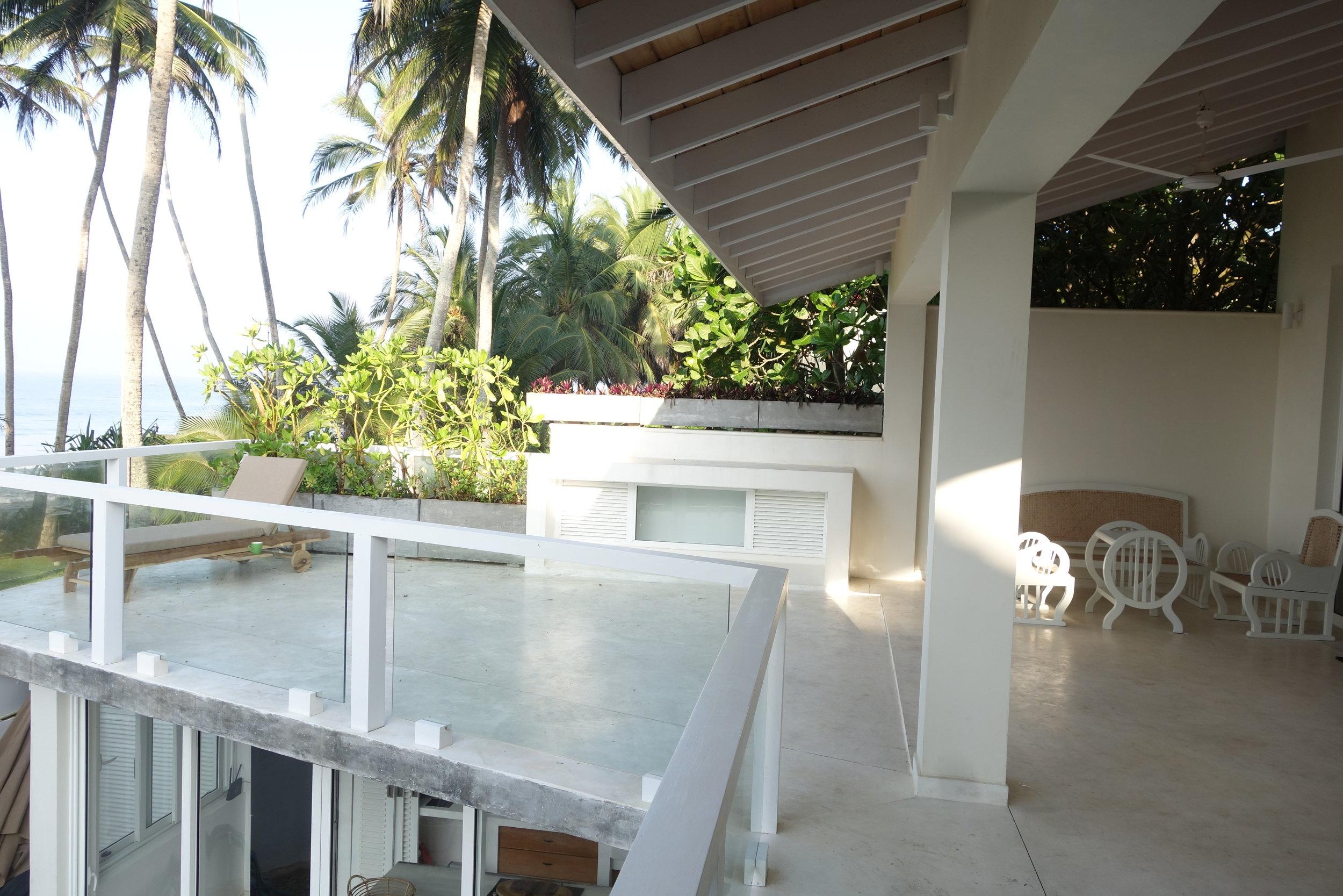 Verandah & open space