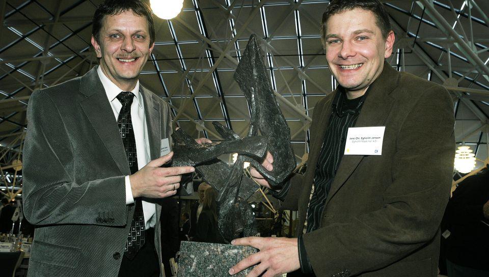 Brødrene Egholm, Kaj (tv) og Jens Christian