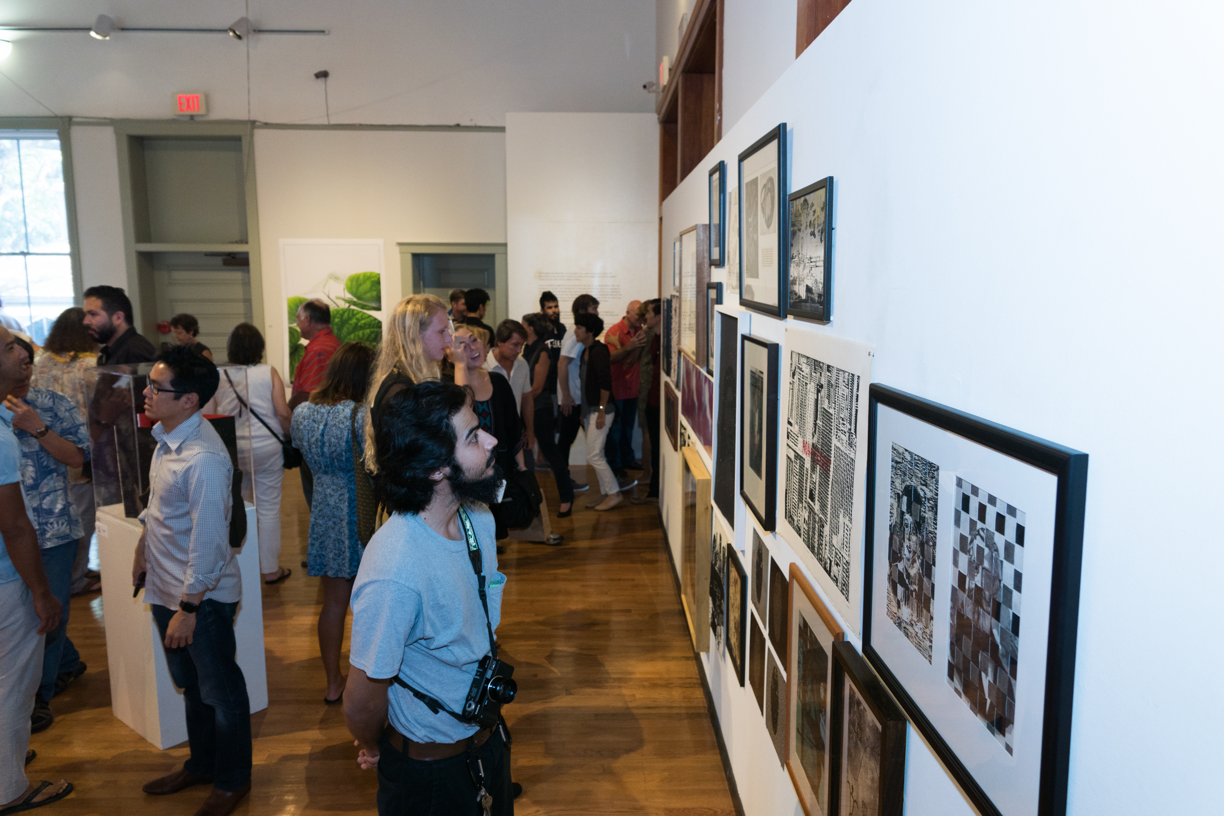 Opening reception for CONTACT 2016