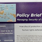 Policy Briefs   These thematic and country-focused Policy Briefs examine key issues with recommendations for policy-makers and stakeholders.