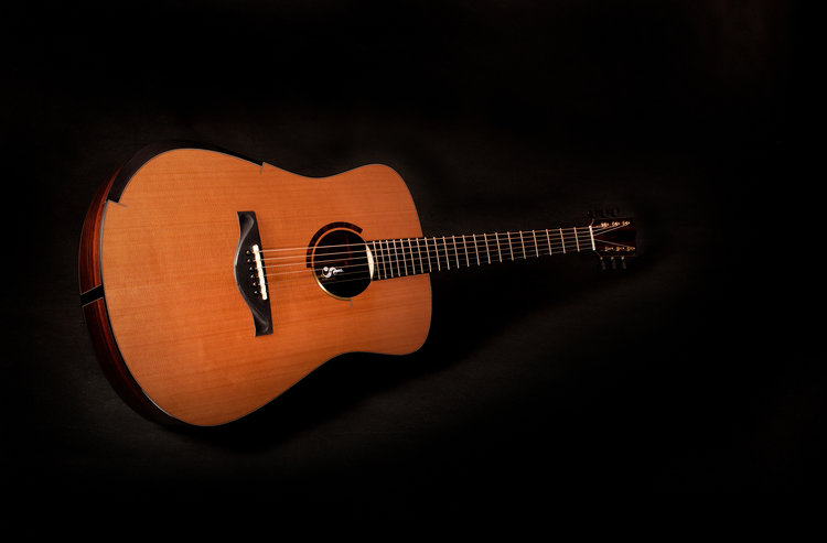 This Model L is currently available from The North American Guitar.