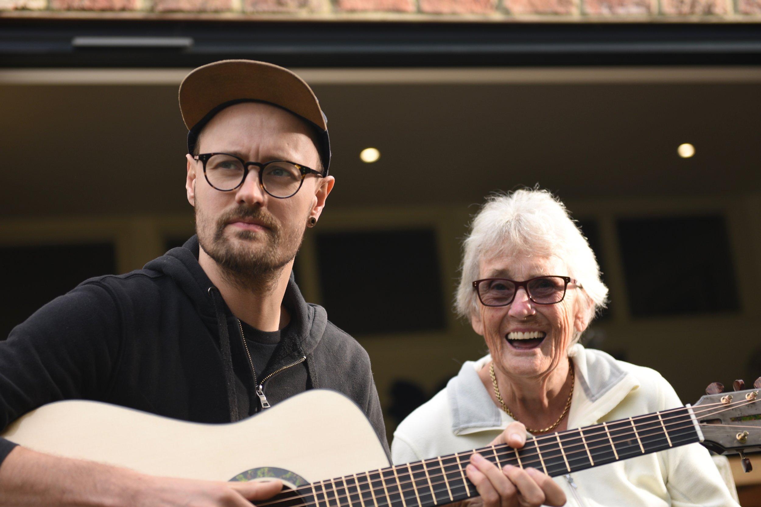 One happy Granny