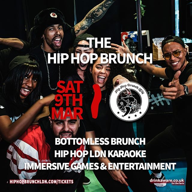London's premiere day party, bringing you straight up bangers, Hip Hop LDN Karaoke and immersive games & entertainment from our LEGENDARY hosts & MC's! #GetOnTheBus  Tickets & info 👉 link in bio