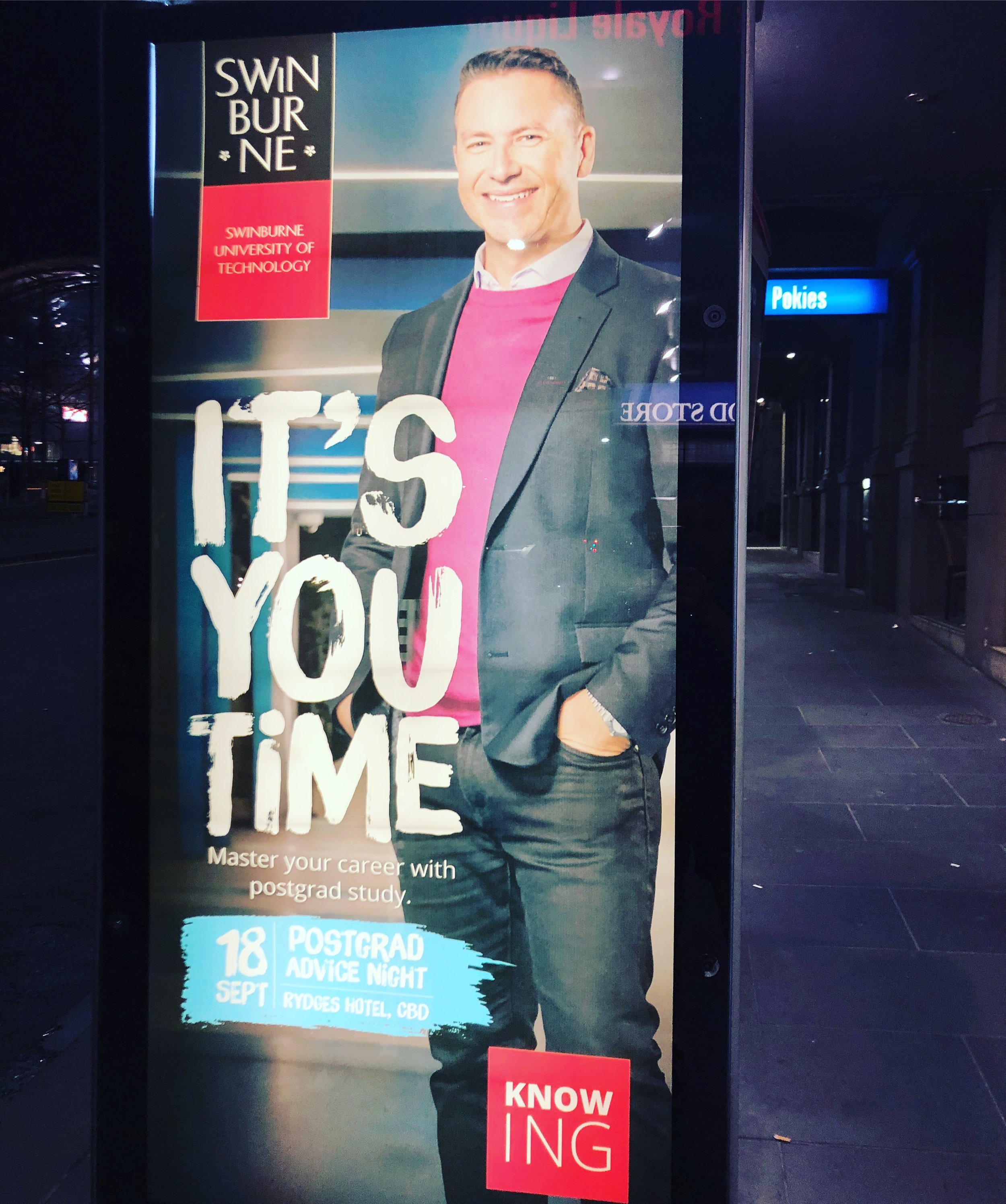 Andrew Ford, Swinburne University billboard.jpg
