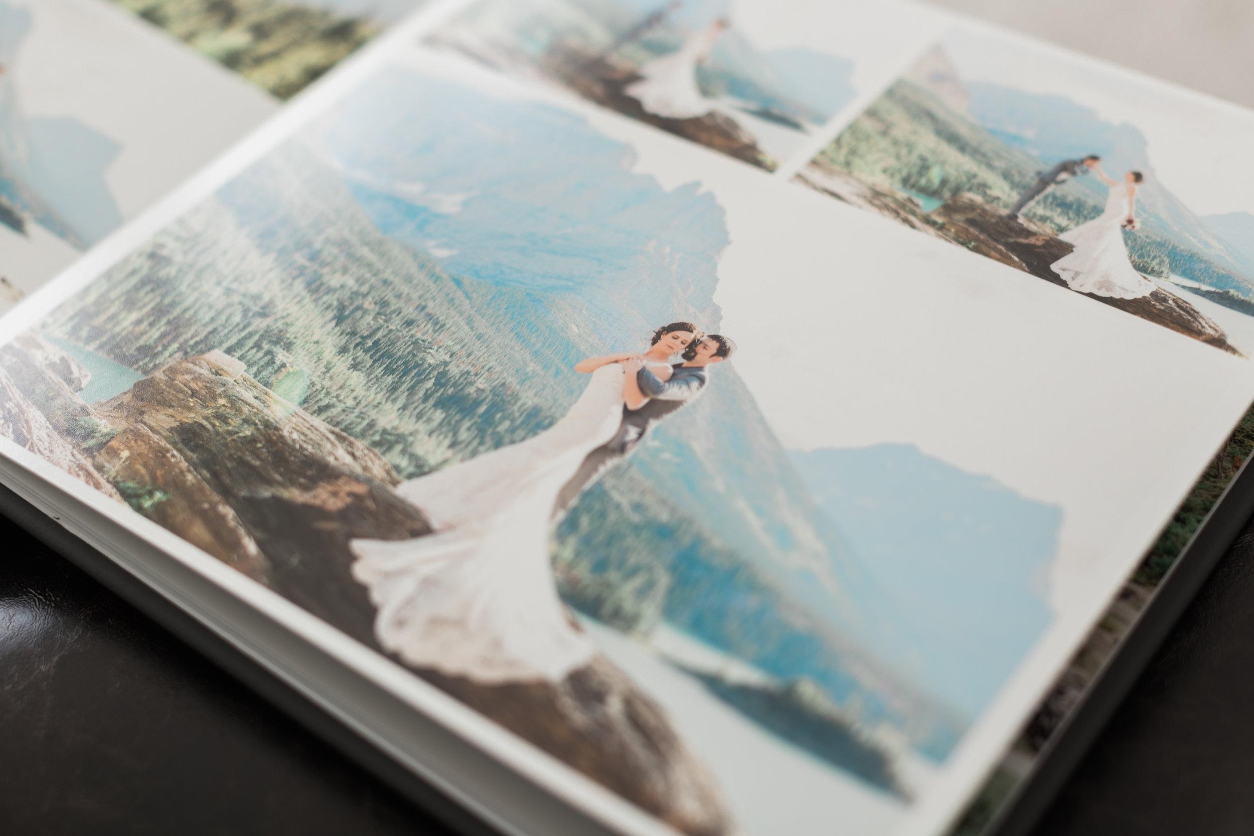 Eugene Oregon Wedding Photographer Wedding Album