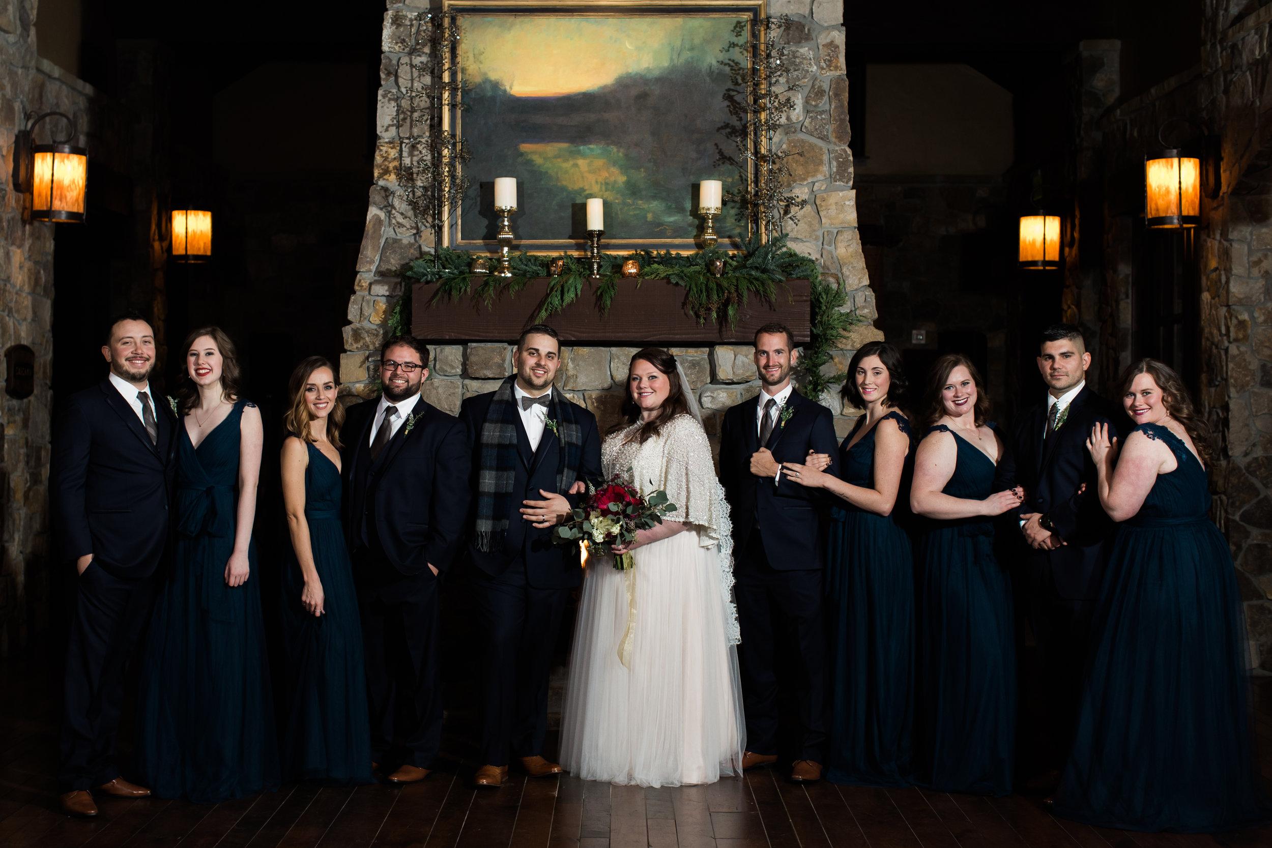 Indoor Wedding -- Pronghorn Resort in Bend, Oregon