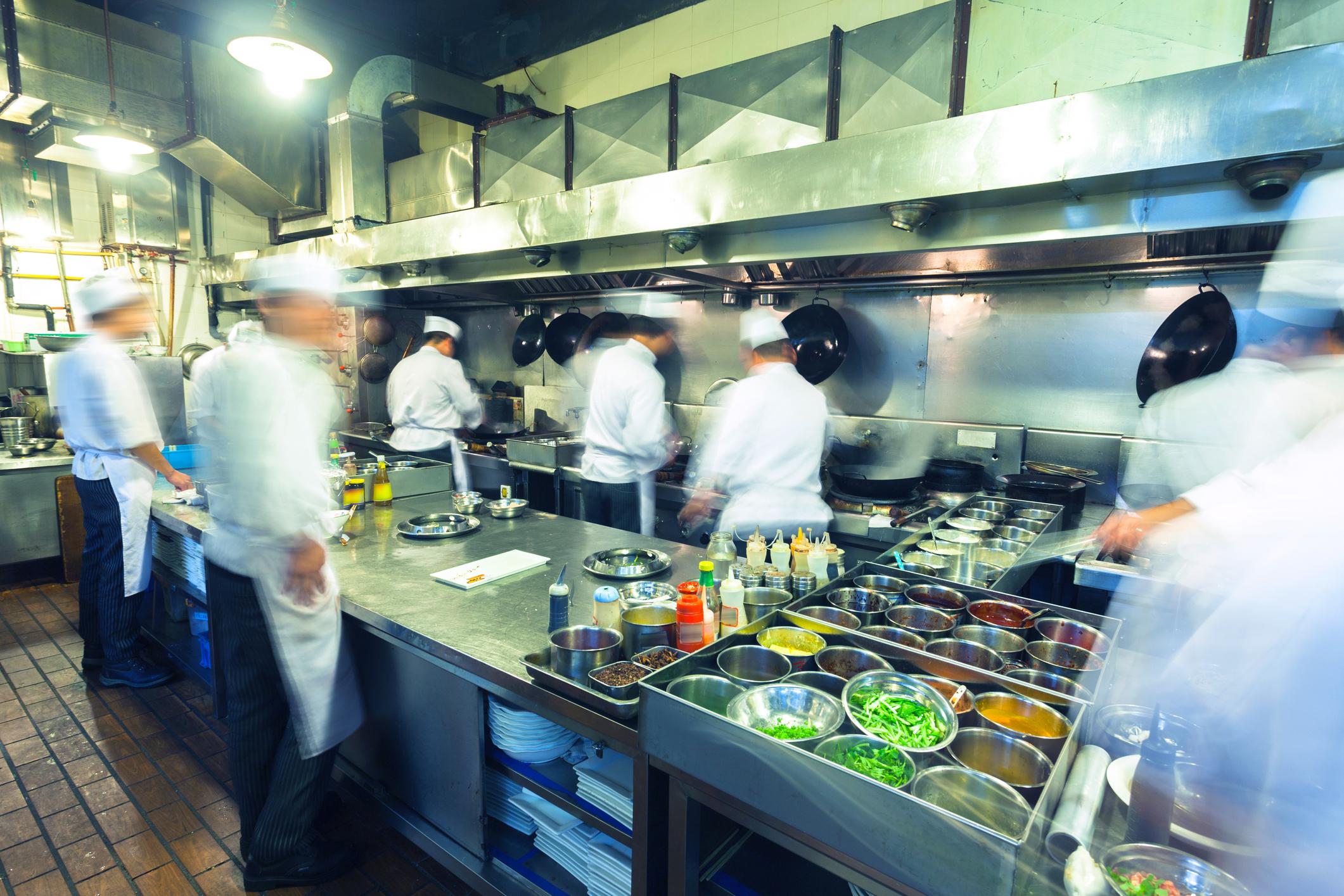 kitchen equipment supplied and installed