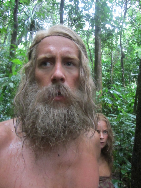"""Wig and beard for the project """" KONTIKI """" Designed and applied by Asta"""