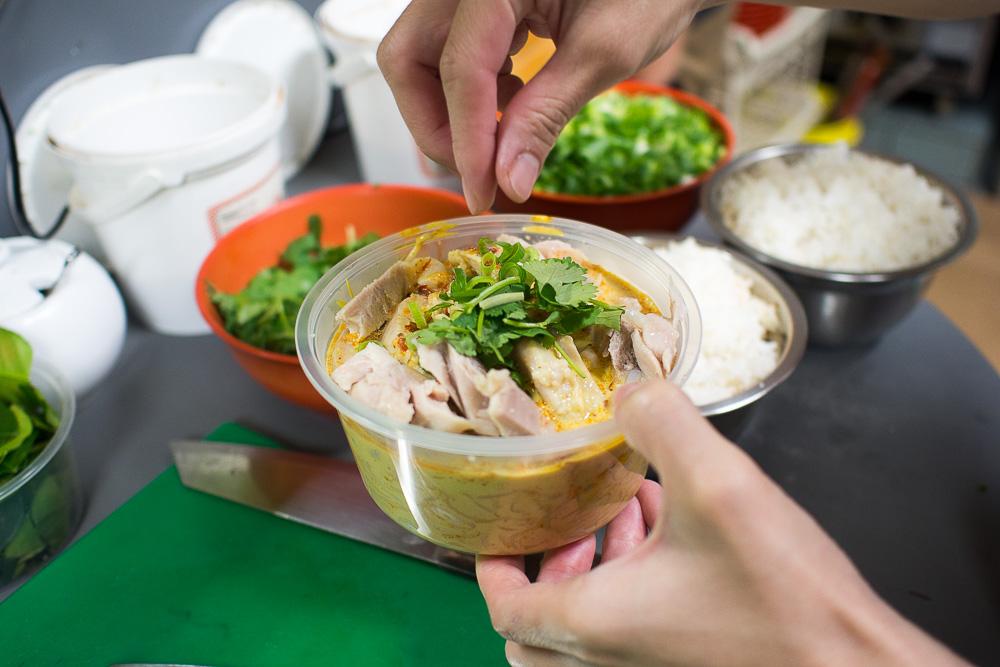 Asian Pot takeaway laksa