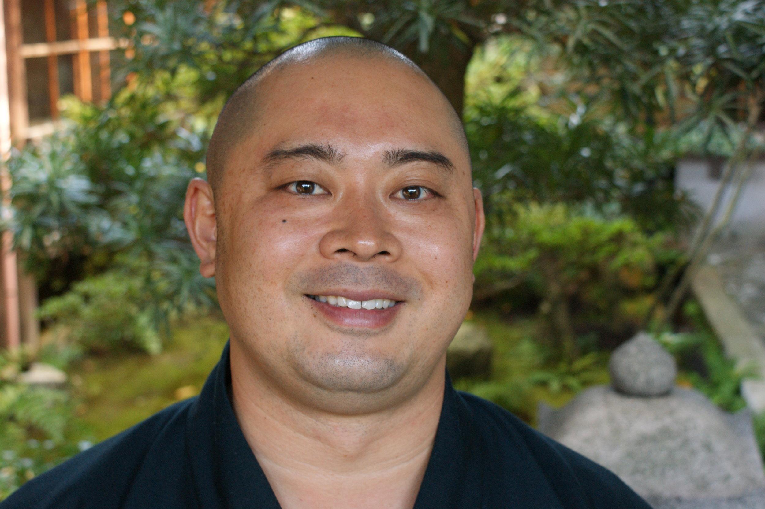 Rev Takafumi Kawakami. A very modern Buddhist monk.