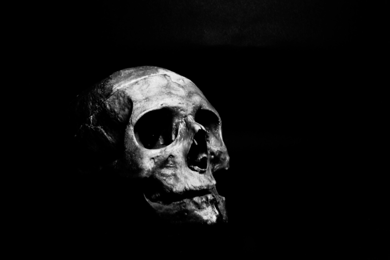 Memento Mori.    In the past, people kept symbols of death as a reminder to reflect on life and their own mortality.